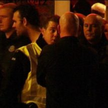 Police sweep football hooligans away from Stratumseind