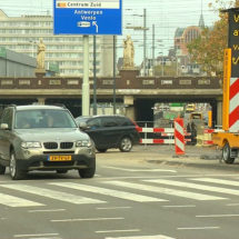 Vestdijktunnel closure creates confusion