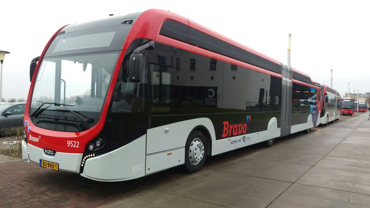 New electric fleet of buses BRAVO - Eindhoven News