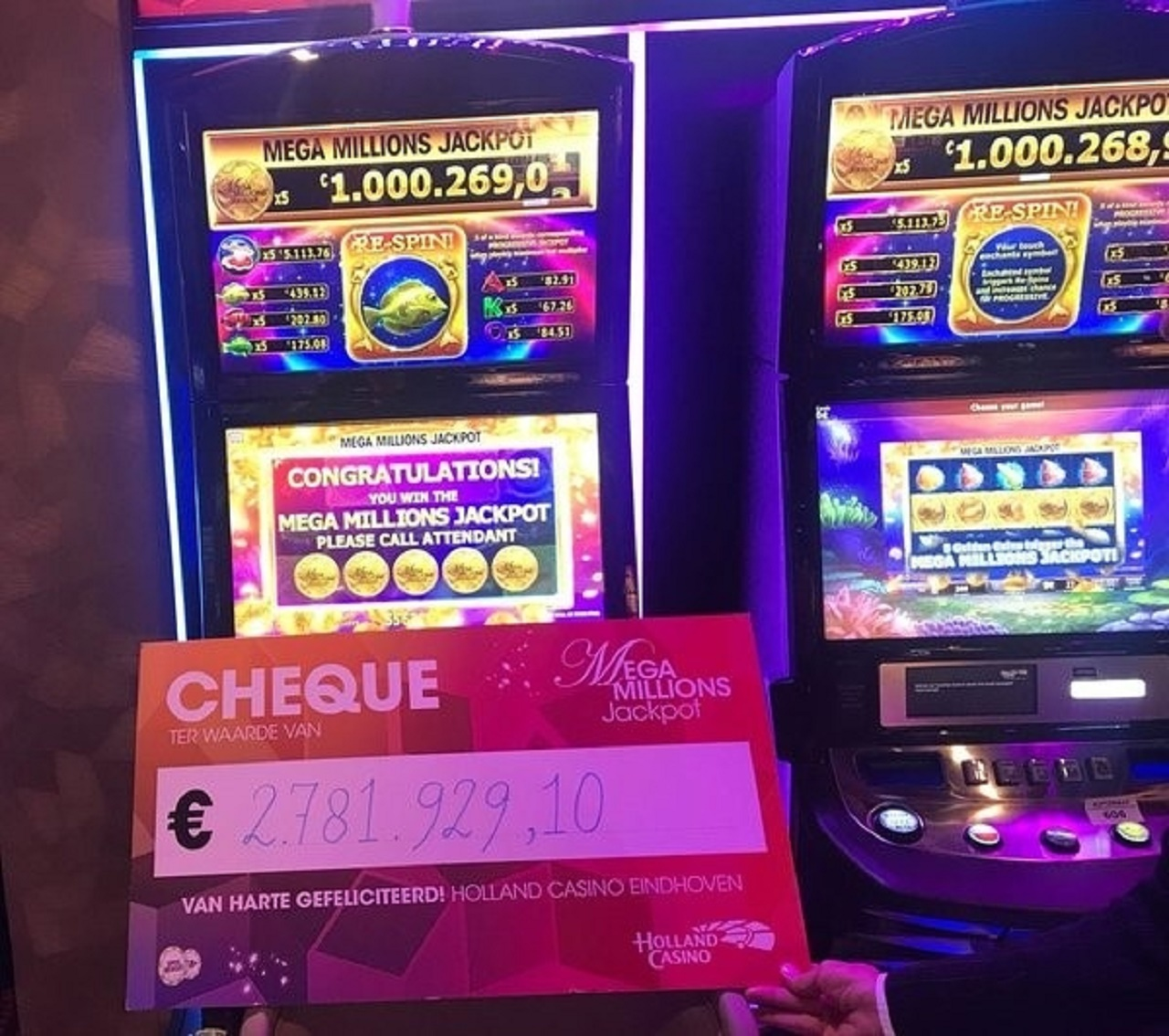 holland casino jackpot