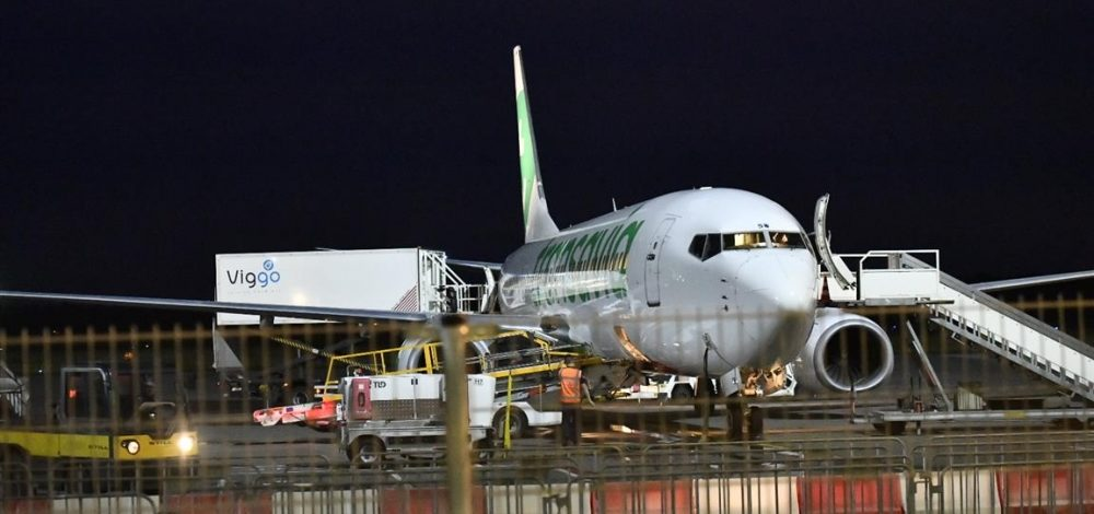 Plane evacuated due to fire in engine