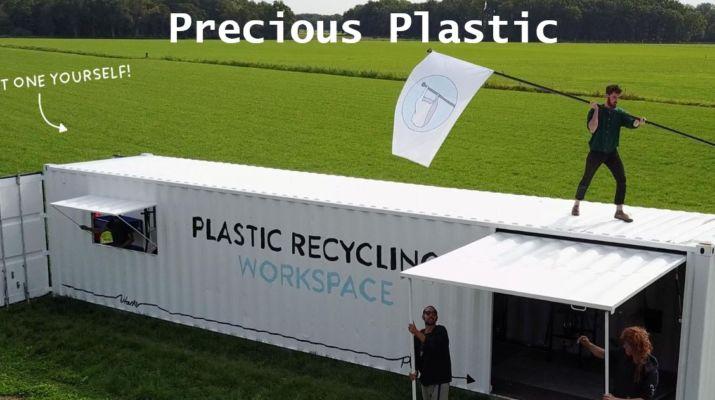 Precious Plastic Container Work space