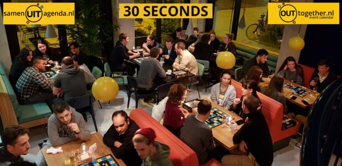 30 seconds - board game - internationals