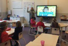 digital boards, schools