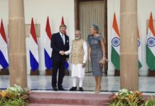 Indo Dutch Summit, In Delhi, Meeting the PM