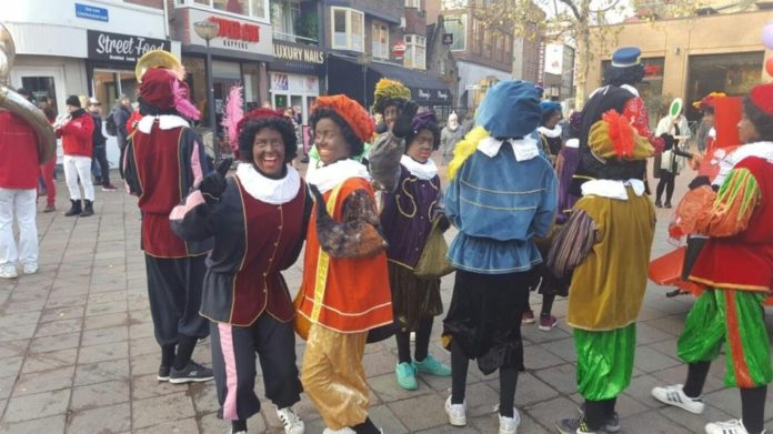 Zwarte Piet celebrations and criticisms, In Eindhoven, extra sunday shopping, demonstrations
