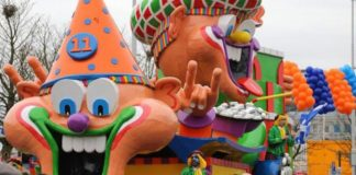 Lampegat parade, Carnival Eindhoven.