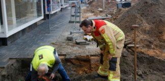 gas leak, construction