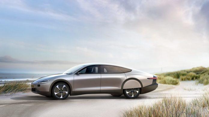 Light year solar car
