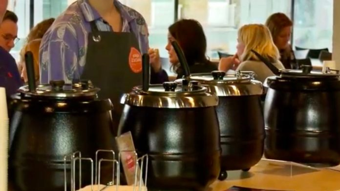 Soup donated to Eindhoven food Bank