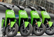 GO Sharing e-scooters