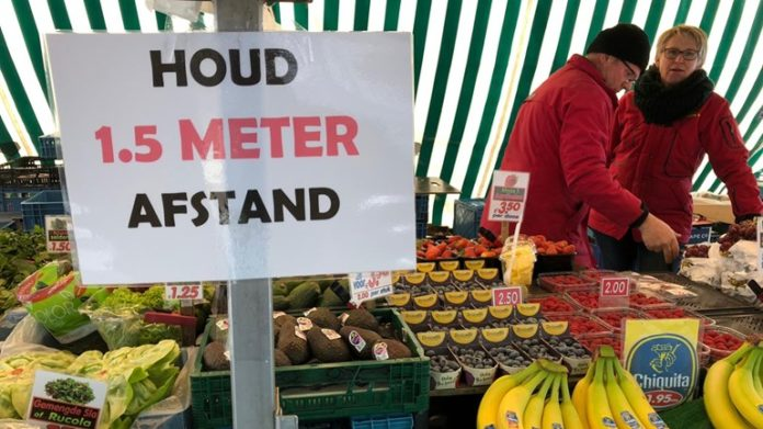 Weekly market opens again in Eindhoven
