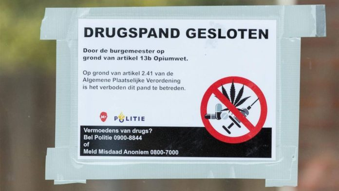 drug premises closed