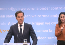 Press conference 31 March - Rutte and De Jonge