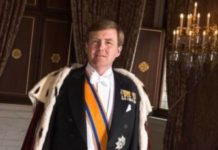 speech of King willem Alexander
