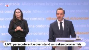 Corona Press conference Rutte and De Jonge
