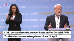 Corona - press conference - 2020-04-21 - Van Dissel