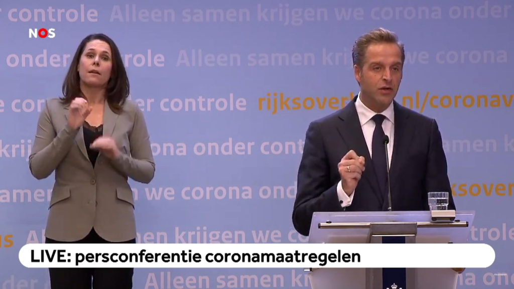 Press conference - De Jonge