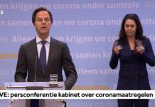 Corona Press conference Rutte and De Jonge - May 6
