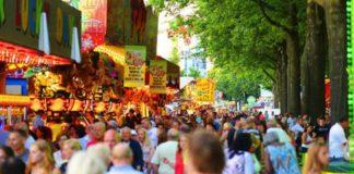 Park Hilaria, fair, crowd