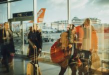 Passengers infected travelling va Eindhoven airport