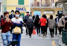 Face masks not yet mandatory in public places