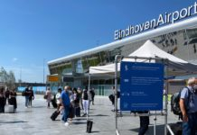 Infections increasing in Eindhoven Airport