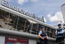 Military police infected at airport