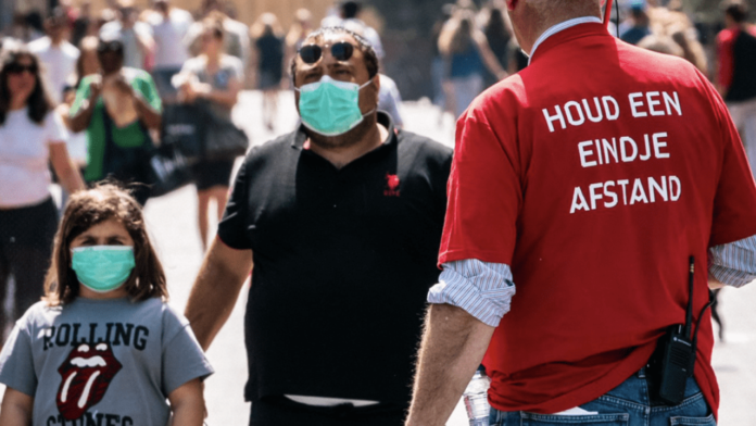 Urgent face mask use in eindhoven