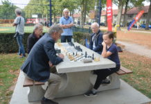 Chess square in Eindhoven