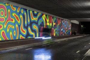 illuminated art by motion paintings collective