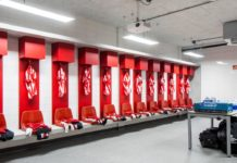 PSV locker room