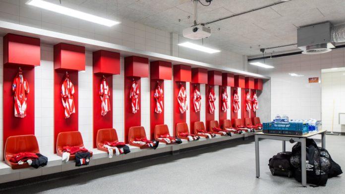 PSV locker room