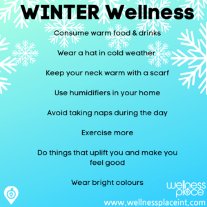 Infographic on Winter wellness