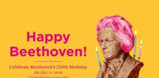 Happy 250th birthday Beethoven concert by the Philharmonie Zuidnederland