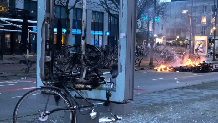 fire, riots
