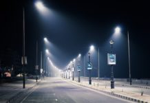 Empty streets, curfew