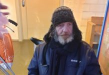 Ulris, homeless man in Tongelere, fundraising campaign for mobility scooter