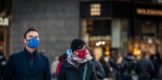 COVID-19, masks, people