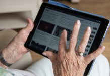 old people, technology