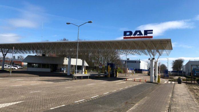 DAF profit is cut into half due to corona