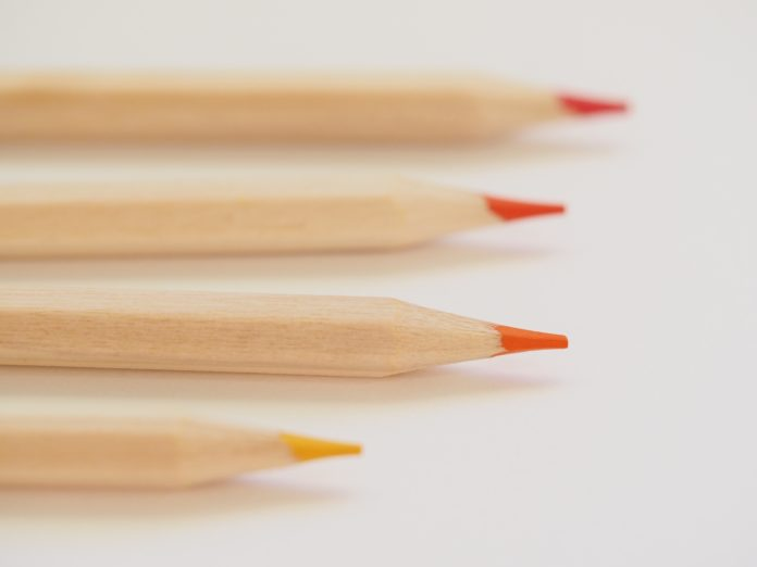 Vote and get red pencil as gift