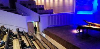 Empty music hall