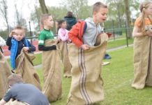 King's day games take place in primary schools