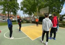 Research for additional basketball field