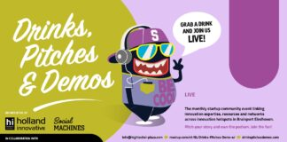 Drinks, Pitches & Demos