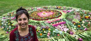 Flower mandala for Afghans