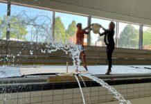 New swimming pool in veldhoven