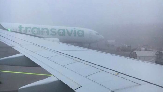 Flight delays due to Fog