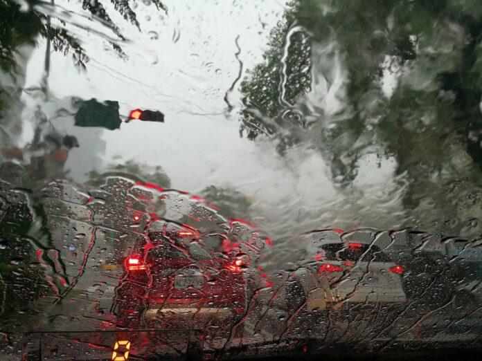 Heavy rains on weekend